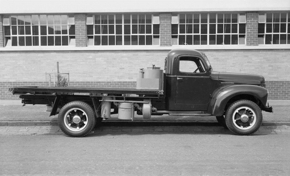 International Harvestor Gasifier Truck