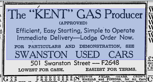 Kent gas producer