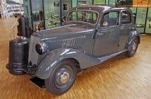 Mercedes 1943 gasifer