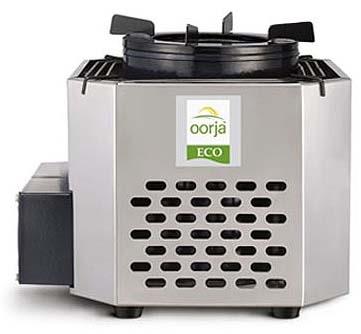 Oorja gasifier stove