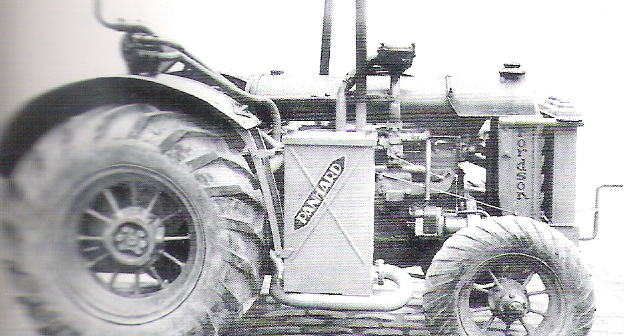 Tractor Panhard Gasifier