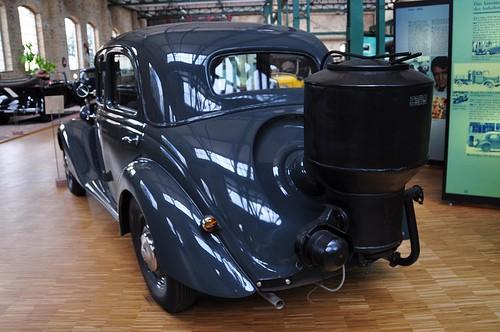mercedes gasified car