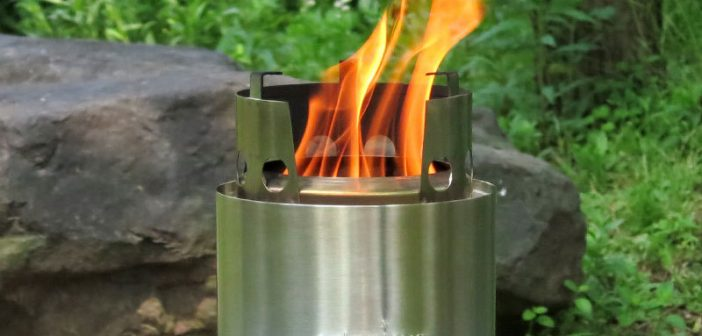 Gasifier Camp Stoves