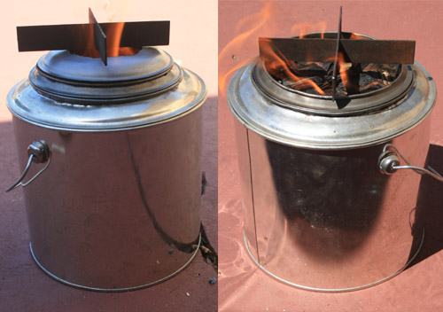 Billy Stove Gasifier