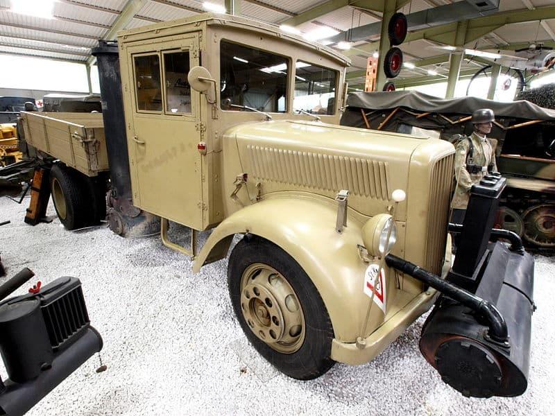 Gasifier Trucks