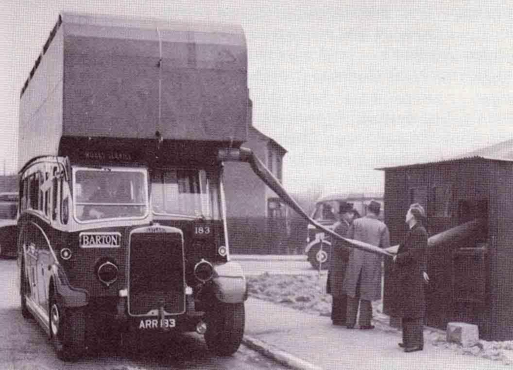 Barton Transport Gas Buses