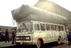 Gas Bag Buses China