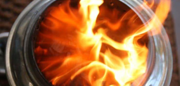 Gasifier stove design