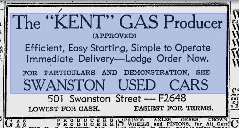 Kent gas producer