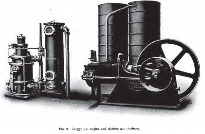 wood gas engine
