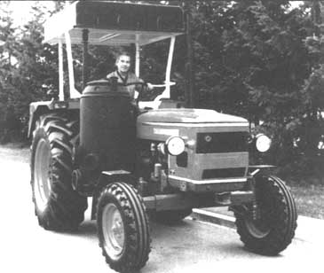 gasifier tractors