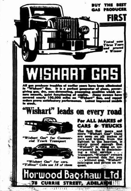Wishart Producer Gas Unit