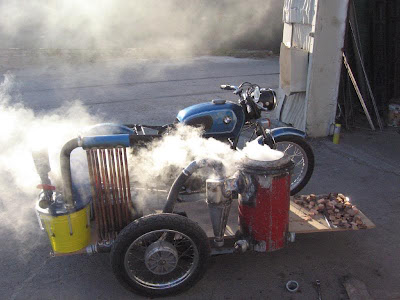 Motorcyle Gasifiers