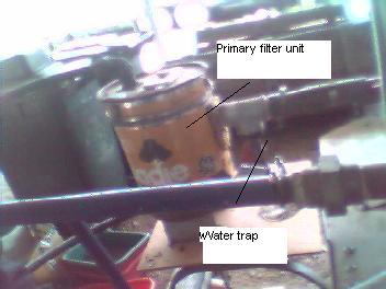 gasifierwater trap